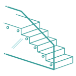 Glass balustrades icon