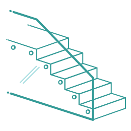 Glass balustrades icon